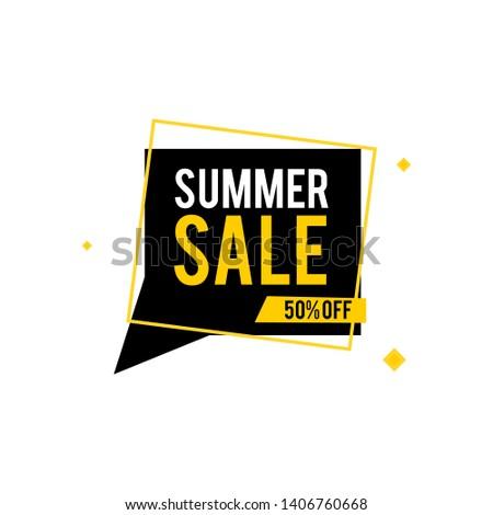 Summer sale vector background - Vector  #1406760668