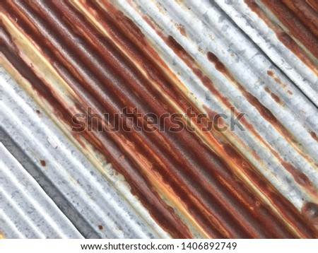 old rusty metal sheet texture #1406892749