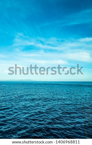 Summer holiday, yacht cruise and Mediterranean nature concept - Beautiful view of a sea coast, travel background #1406968811