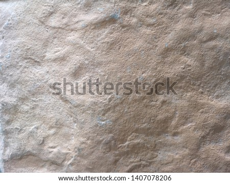 Brown stone hard sand wall and floor rough surface texture material background #1407078206