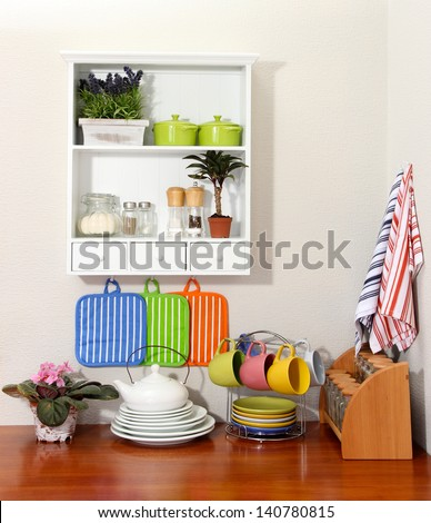 Beautiful kitchen interior #140780815