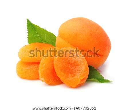 Sweet apricots and dried apricots #1407902852