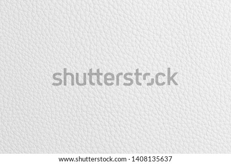 White leather texture pattern.White background or texture #1408135637