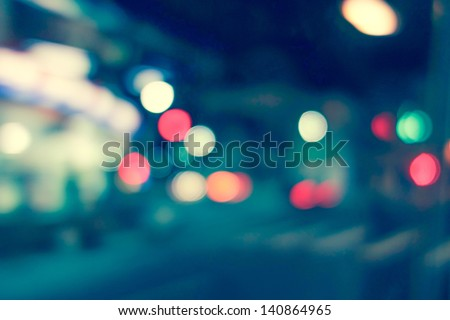 Artistic style - Defocused urban abstract texture background for your design #140864965