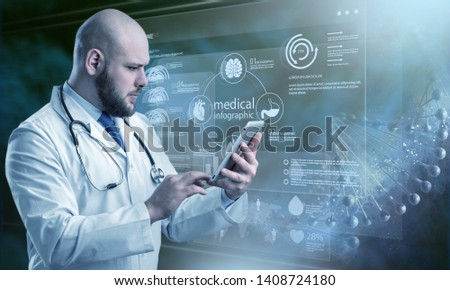 Innovative technologies in science and medicine . Mixed media #1408724180