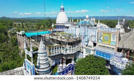 one of the magnificent mosques with many arabic patterns in Indonesia #1408749254