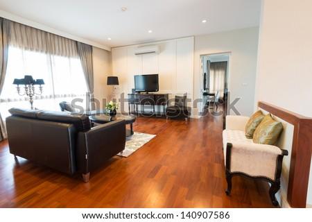 Modern living room #140907586