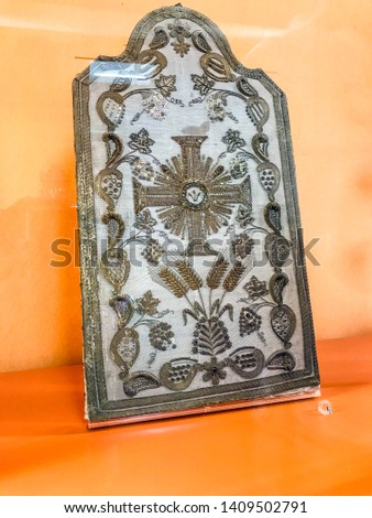 Evora Traditional Arts and Crafts in Bones Chapel Church #1409502791