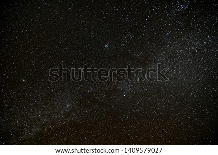 Starry Night Sky with stars #1409579027