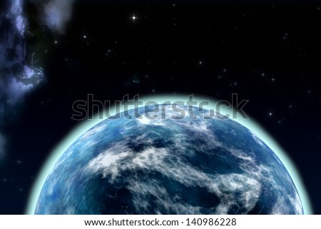 blue planet. Element s of this image furnished by NASA #140986228