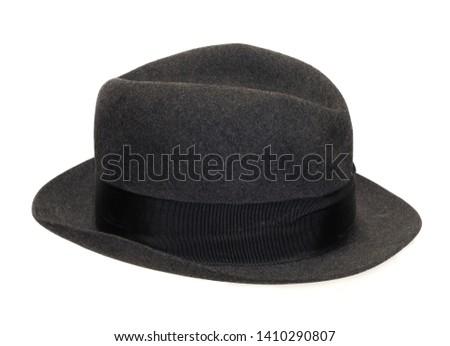 vintage old fashion hat, cap #1410290807