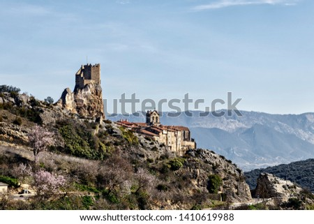 ancient castle in medieval city #1410619988