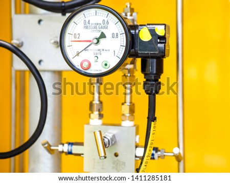 Diff-Pressure switch for measurement level of tank at Heat recovery steam generator in Combined-Cycle Co-Generation Power Plant with closed up #1411285181