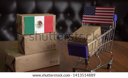 U.S. Hit Mexico With Tariffs on All Goods #1413514889