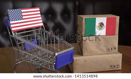 US - Mexico trade war. American Tariff on all Mexican imports #1413514898