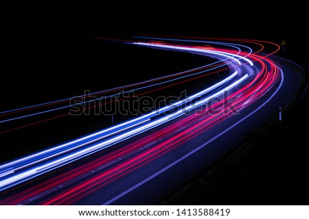 lights of cars with night #1413588419
