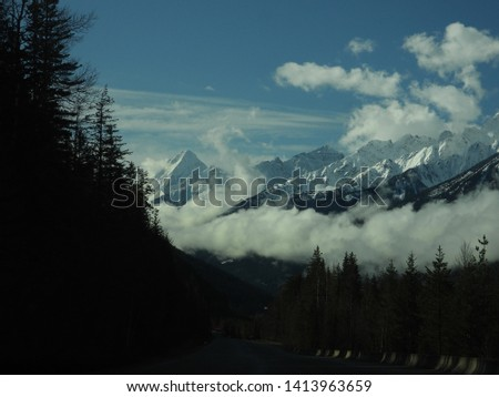 British Columbia Mountains Forests Roads #1413963659
