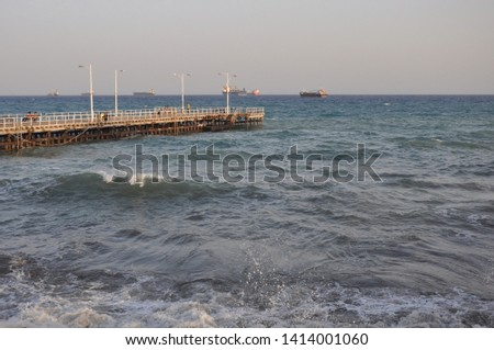 The beautiful Old Port Limassol in Cyprus  #1414001060