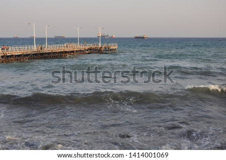 The beautiful Old Port Limassol in Cyprus  #1414001069