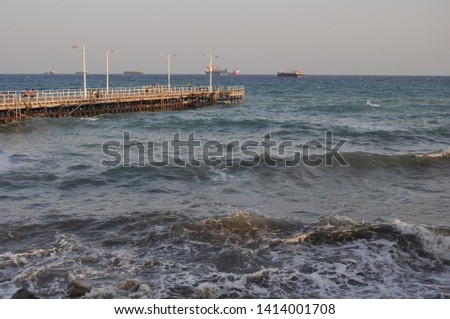 The beautiful Old Port Limassol in Cyprus  #1414001708