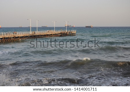 The beautiful Old Port Limassol in Cyprus  #1414001711