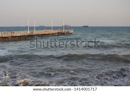 The beautiful Old Port Limassol in Cyprus  #1414001717