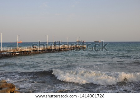 The beautiful Old Port Limassol in Cyprus  #1414001726