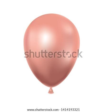 helium balloon on white background #1414193321