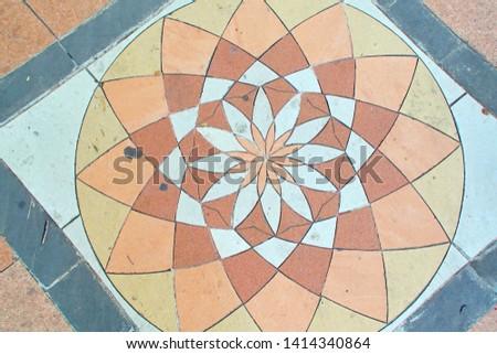 decorative garden decorative stone tile floor tiles #1414340864