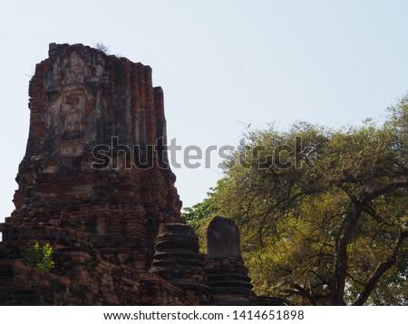 Amazing Thailand - Phra Nakhon Si Ayutthaya. Thailand. 19-5-2019. Wat phra ram, Thailand. #1414651898