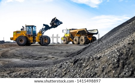 Johannesburg, South Africa - April 20 2012: Manganese Mining and Equipment #1415498897