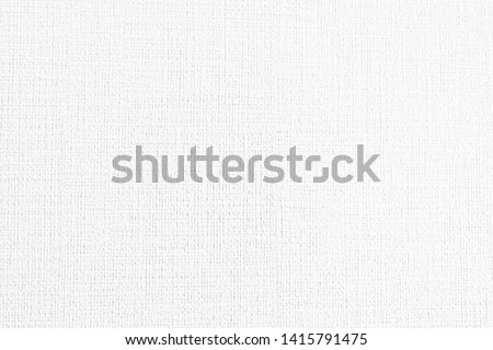 White Fabric background, White Fabric texture. White Fabric backdrop, Cloth knitted, cotton, wool background. vector background, Renovate frame grimy backdrop, background, wallpaper, Empty, Canvas #1415791475