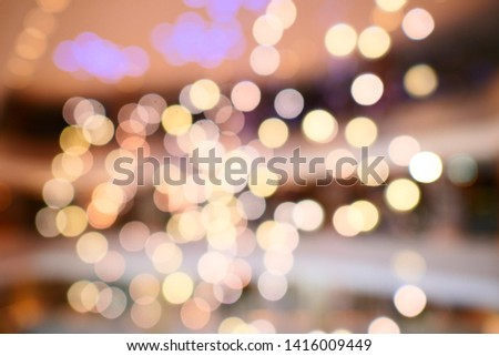blurred background with bokeh / blurred bokeh background texture #1416009449