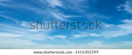 white cloud with blue sky background #1416302399
