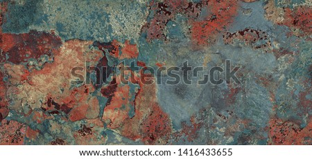 Multicolor rough marble texture background (with high resolution), Rusty stucco wall texture for interior home decoration ceramic tile surface. Royalty-Free Stock Photo #1416433655