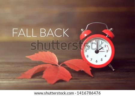 Fall back. Daylight saving time. #1416786476