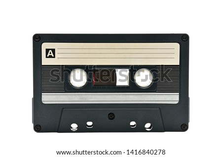 Compact audio cassette for use on audio tape recorders, music players and tape decks.Retro. #1416840278