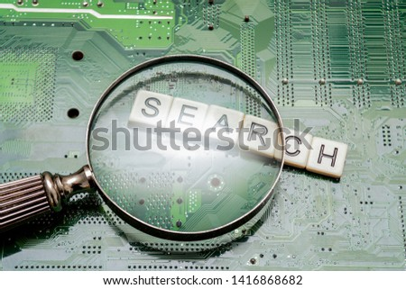 Search results from search engine query, searching the internet #1416868682