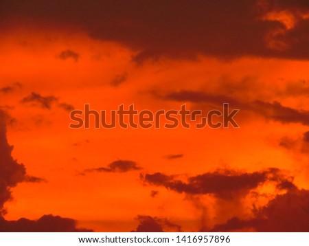 sky at dusk  #1416957896
