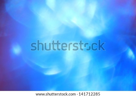 Blue Mesmerize - Abstract Art of Color and Background