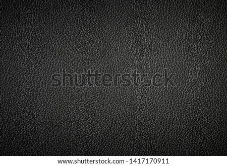 Black leather texture can be use as background #1417170911