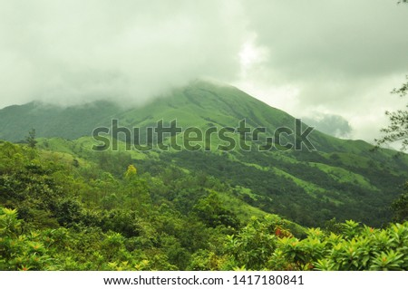 Green Mountains covered with Mist #1417180841