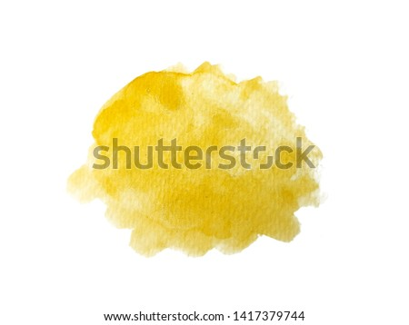 Abstract watercolor hand paint texture, isolated on white background #1417379744