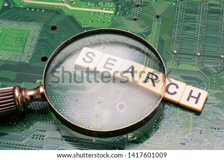 Search results from search engine query, searching the internet #1417601009