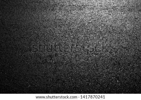 Asphalt Road background texture black construction the industry Lane Blacktop #1417870241