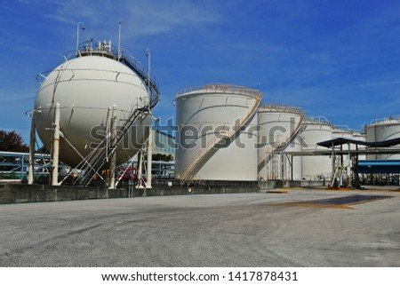 industrial tanks in industrial parks #1417878431