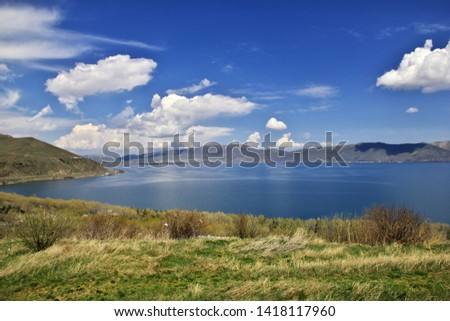 Lake Sevan in the Caucasus mountains, Armenia #1418117960