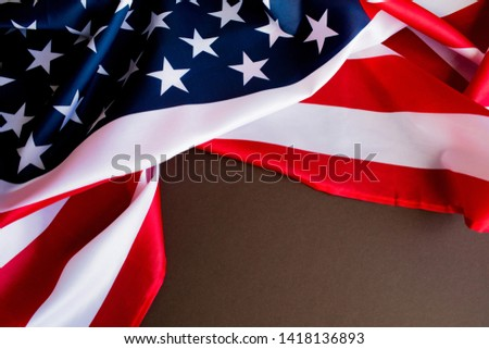 American flag for Memorial Day or 4th of July. #1418136893