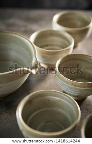 Crockery, tea utensil, pottery or ceramics  #1418614244
