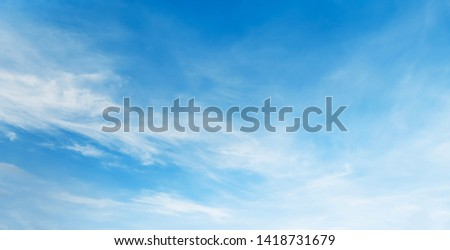 white cloud with blue sky background #1418731679